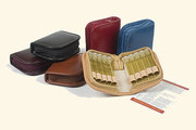 "10 - Leather remedy cases ""mini""/"