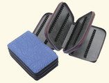 192 - Leather remedy cases without inner strap for 1,5g flat-bottomed vials/
