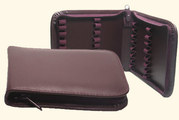 32 - Leather remedy cases without inner strap for 1,5g flat-bottomed vials/