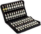 Bach flowes remedy case - for 40 x 20 ml bottles, artificial leather/