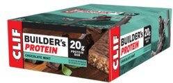 CLIF Builder's 20 g Protein Bar - Chocolate & Mint - Box 12 x 68 g/
