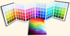 """Colores en Homeopatía - Juego : """"Tabla Ampliada de Colores"""" y el """"Libro de Texto""""/"""