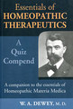 Essentials of Homoeopathic Therapeutics/Willis Alonzo Dewey