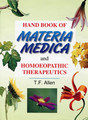 Handbook of Materia Medica & Homoeopathic Therapeutics/Timothy Field Allen
