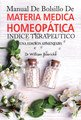 Manual de Bolsillo de Materia Médica Homeopática/William Boericke