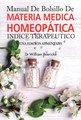 Manual de Bolsillo de Materia Médica Homeopática/