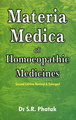 Materia Medica of Homoeopathic Medicines, S.R. Phatak