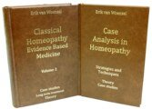 Set: Case Analysis in Homeopathy & Classical Homeopathy Evidence Based Medicine vol. 2/Erik van Woensel