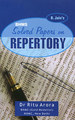 Solved Papers in Repertory/Ritu Arora