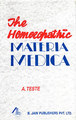 The Homoeopathic Materia Medica/A. Teste