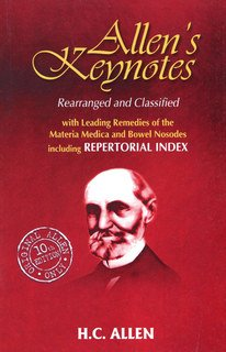 Henry C. Allen: Allen's Keynotes Rearranged and Classified