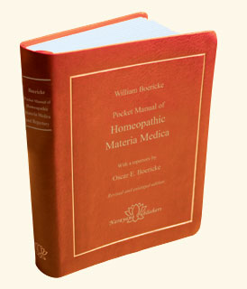 Homeopathic Materia Medica Book
