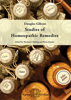 Douglas Gibson: Studies of Homeopathic Remedies