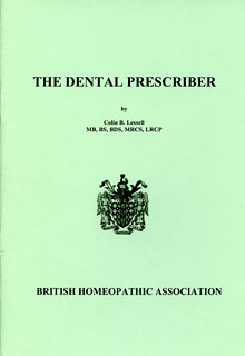 Colin B. Lessell: The dental prescriber