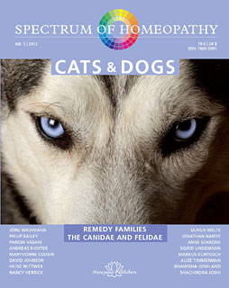Spectrum of Homeopathy 2012-I, Cats and Dogs