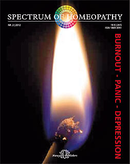 Spectrum of Homeopathy 2012-2, Burnout - Panic - Depression