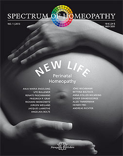 Spectrum of Homeopathy 2013-I, New Life