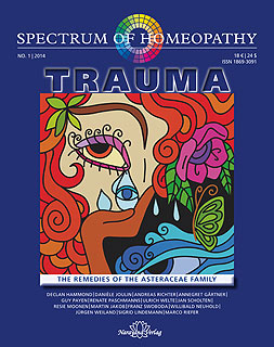 Spectrum of Homeopathy 2014-1, Trauma