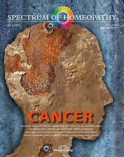 Spectrum of Homeopathy 2014-2, Cancer