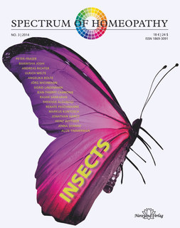 Spectrum of Homeopathy 2014-3, Insects