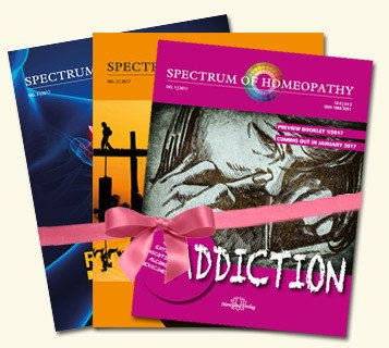 Narayana Verlag: E-Book - Spectrum of Homeopathy - Subscription 2017 - E-Book