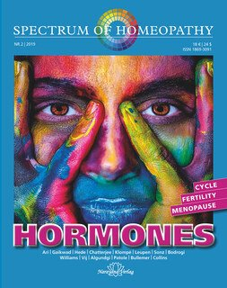 Narayana Verlag: Spectrum of Homeopathy 2019-2, HORMONES