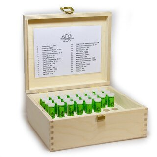 Basic Kit 30 in wooden case - Maute, Homeoplant