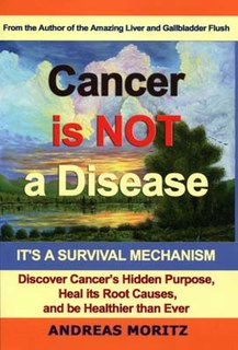 Cancer Is Not A Disease - It's A Survival Mechanism, Andreas Moritz