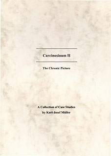 Carcinosinum II- A Collection of Cases Studies, Karl-Josef Müller