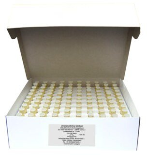 Glass vials with 1.3 g unmedicated pillules - 100 pieces, Narayana Verlag