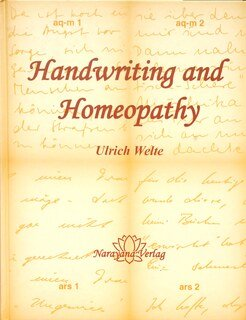 Handwriting and Homeopathy, Ulrich Welte