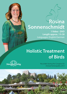 Holistic Treatment of Birds - 1 DVD, Rosina Sonnenschmidt