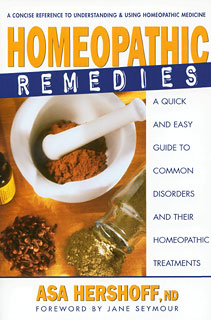 Homeopathic Remedies, Asa Hershoff