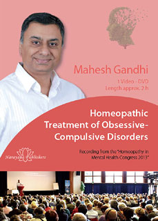 Homeopathic Treatment of Obsessive-Compulsive Disorders - 1 DVD, Mahesh Gandhi