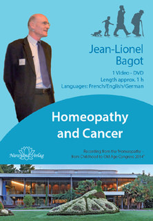 Homeopathy and Cancer - 1 DVD, Jean-Lionel Bagot