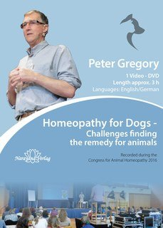 Homeopathy for Dogs - 1 DVD, Peter Gregory