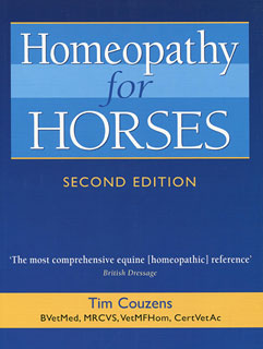 Homeopathy for Horses, Tim Couzens
