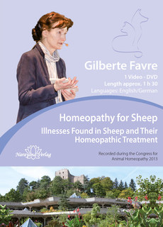 Homeopathy for Sheep - Illnesses Found in Sheep and Their Homeopathic Treatment - 1 DVD, Gilberte Favre