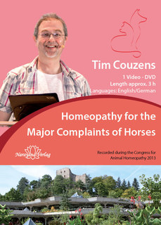 Homeopathy for the Major Complaints of Horses - 1 DVD, Tim Couzens