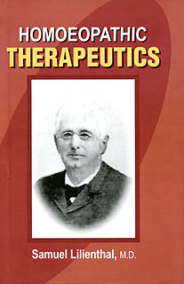 Homoeophatic Therapeutics, Samuel Lilienthal