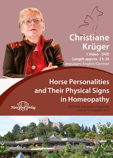 Horse Personalities and Their Physical Signs in Homeopathy - 1 DVD, Christiane P. Krüger