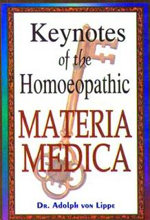 Keynotes of Homoeopathic Materia Medica, Adolf zur Lippe