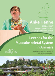 Leeches for the Musculoskeletal System in Animals - 1 DVD, Anke Henne