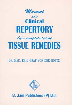 Manual and Clinical Repertory, Eric Goltz
