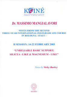 Notes, Session 2, Massimo Mangialavori