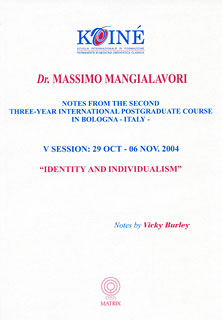 Notes, Session 5, Massimo Mangialavori