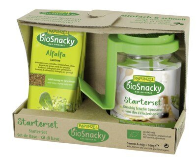 Rapunzel sprouting glass starter set - bioSnacky