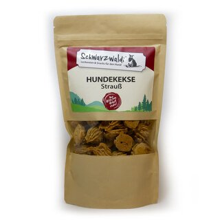 Schwarzwaldi Dog Biscuits with Ostrich - 150 g (treat)