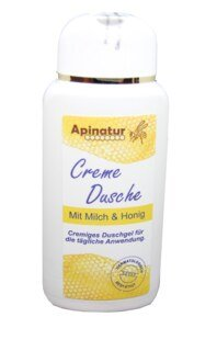 Shower Cream with milk and honey from Apinatur - 200ml