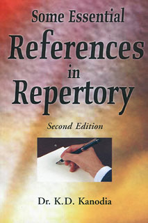 Some Essential References in Repertory, K.D. Kanodia